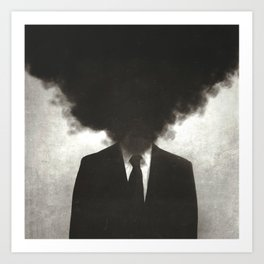 Confessions of a Guilty Mind. Art Print