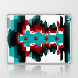 Chicago Flag Skyline Laptop & iPad Skin