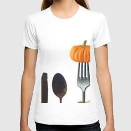 Eat Healthy with Pumpkin T-shirt