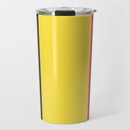 Flag of Belgium Travel Mug
