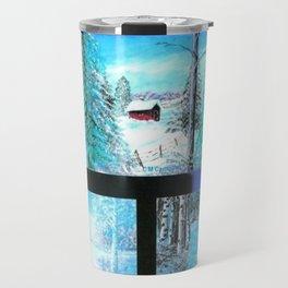 """ Winter Collage II "" Travel Mug"