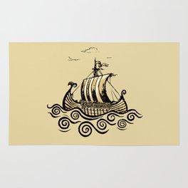 Viking ship 2 Rug