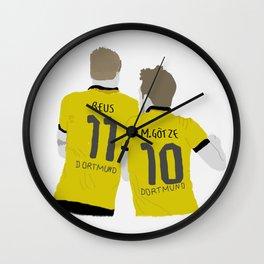 reus & götze Wall Clock