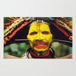 Papua New Guinea Chief Rug