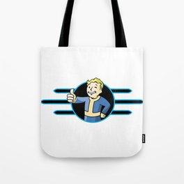 Fallout 4 Vault Boy Thumbs Up Tote Bag