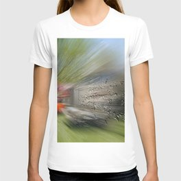 Zooming drops T-shirt
