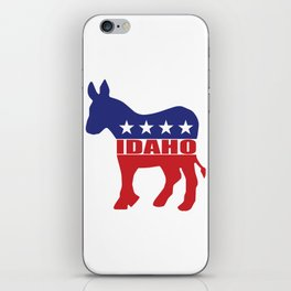 Idaho Democrat Donkey iPhone Skin
