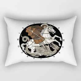 Sic Semper Draconis Rectangular Pillow