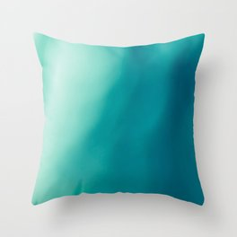 The colors of the deep ocean Throw Pillow