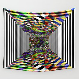 Colorblock box Wall Tapestry