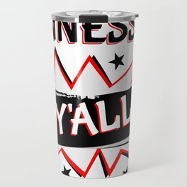 Tennessee State Y'all Travel Mug