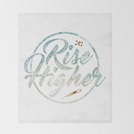 Rise Higher Shooting Star Throw Blanket