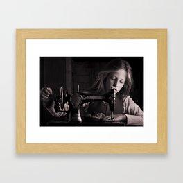 Singer Framed Art Print