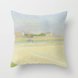 The Channel of Gravelines, Grand Fort-Philippe Throw Pillow