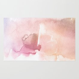 Color me Pink Water Color Rug