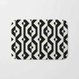 Modern bold print with diamond shapes Bath Mat