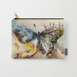 Butterfly Affect Carry-All Pouch