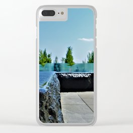 Memorial Clear iPhone Case