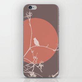 Bird on a branch 2 iPhone Skin