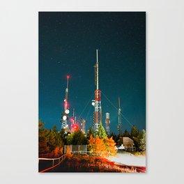 Crest High Rises Canvas Print