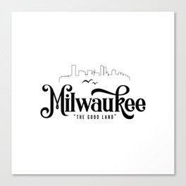 Milwaukee Canvas Print