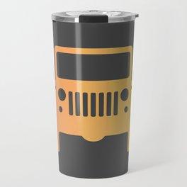 Jeep 'Orange Gradation' Travel Mug