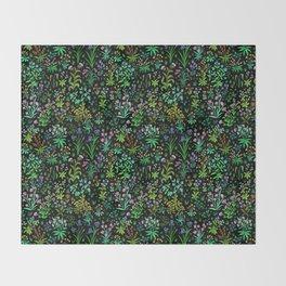 Medieval Spring Throw Blanket