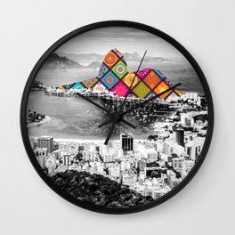 Funky Landmark - Rio Wall Clock