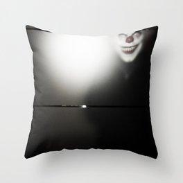 Coulrophobia Throw Pillow