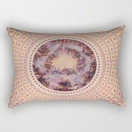 Apotheosis of Washington, Capitol Dome Rectangular Pillow
