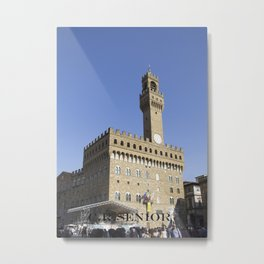 Castle in Italy Country Metal Print