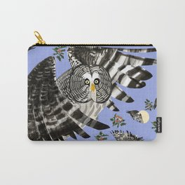 Great grey owl (Strix nebulosa) Carry-All Pouch