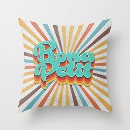 Bona Petit Throw Pillow