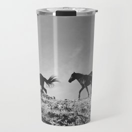 Pryor Mountain Wild Mustangs Travel Mug