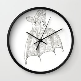 Vampire squid Wall Clock