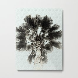 Palm Sketch Metal Print