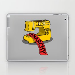 Anarchy Sewing Machine Laptop & iPad Skin