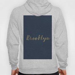 Brooklyn Gold Script Hoody