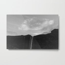 Iceland Waterfall Metal Print