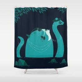 Nessie Shower Curtain