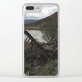 Lake Hodges in Escondido California Clear iPhone Case