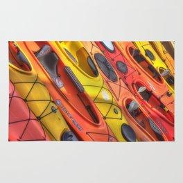 Kayak Art Rug