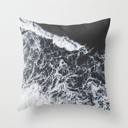sea lace Throw Pillow