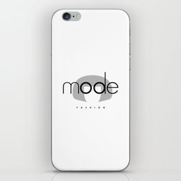 Edna Mode Fashion (logo big) iPhone Skin