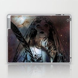Galaxy Gypsy Writing a Letter to the Cosmos Laptop & iPad Skin