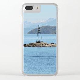 Isla sureña Clear iPhone Case