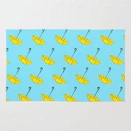 The Yellow Umbrella Rug