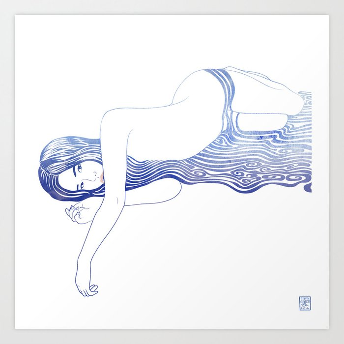 Water Nymph XXXV Art Print