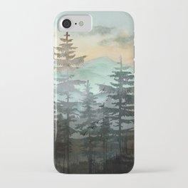 Pine Trees iPhone Case