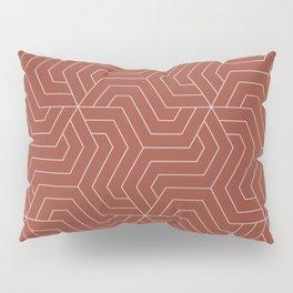 Chestnut - violet - Modern Vector Seamless Pattern Pillow Sham